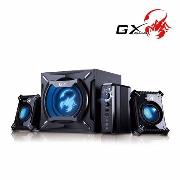【福利品↓殺】GX Gaming SW-G2.1 2000 冷冽灄蠍(四件式)重低音喇叭組