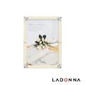 日本 LADONNA Bridal 幸福花嫁 白色戀人相框5x7 MJ36-2L-WH