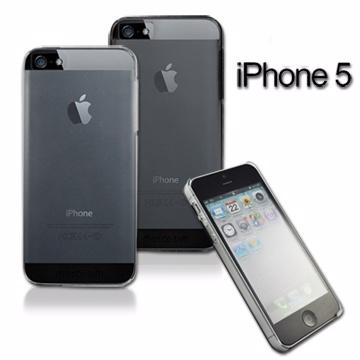 Metal-Slim Apple iPhone5 極薄羽翼高強度晶透磨砂手機保護殼