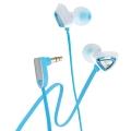 Genius GHP-250X 奢華三角造形-頂級音色耳道式耳機(天空藍)