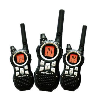 摩托羅拉免執照無線電對講機 TLKR K9 3支組