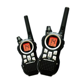 摩托羅拉免執照無線電對講機 TLKR K9 2支簡配組