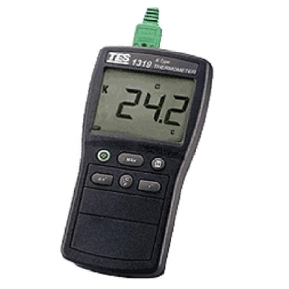 TES泰仕 TES-1319A 新型 K-Type 大螢幕顯示 溫度計