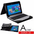 宏碁 Acer Aspire Switch 10 平板電腦頂級皮套 保護套 可裝鍵盤及分拆