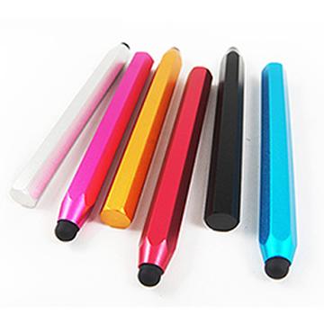 鉛筆型電容觸控筆 適用手機 平板電腦 電容式觸控螢幕 六角筆身 好握好書寫