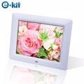【逸奇e-Kit】8吋雪花數位相框電子相冊(DF-F023-W)