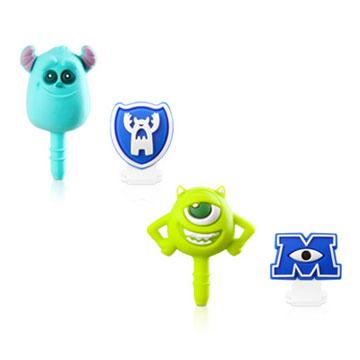 Bone / 怪獸大學-耳機塞&Micro USB防塵塞組