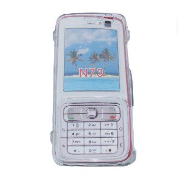 手機水晶保護外殼 NOKIA N73 (一組2入)