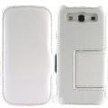 Samsung Galaxy S3 i9300 側掀(立架)皮套