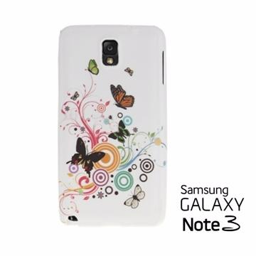 Versaview Samsung Galaxy Note3 TPU軟質保護殼 流紋彩蝶