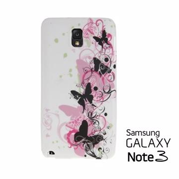 Versaview Samsung Galaxy Note3 TPU軟質保護殼 蝶舞翩翩