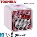 TOSHIBA Hello Kitty NFC 藍芽喇叭音響 TY-WSP51KTTW