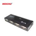 WEICHU  USB 2.0 超薄mini 4埠 HUB