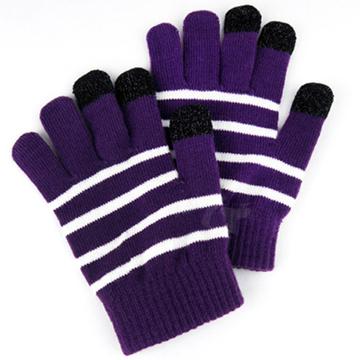 MATE 暖控3C觸控螢幕專用手套-紫色