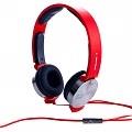 【i2 X GTV八大電視 終極X宿舍獨家合作耳機】i2 VIBRATE 線控耳罩式耳機搖滾紅