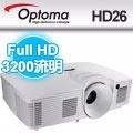 OPTOMA 奧圖碼 Full-HD 3D DLP劇院級投影機 HD26