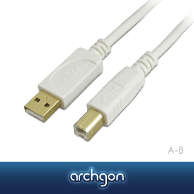 archgon – USB 2.0 A–B 1.5M高速傳輸線【亞齊慷】