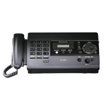 Panasonic國際牌 感熱紙傳真機 KX-FT518 【鈦黑色】