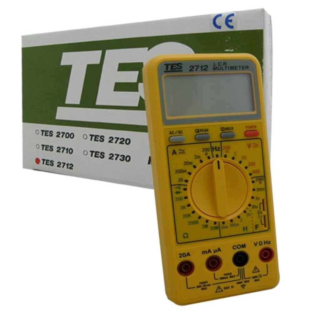 TES泰仕 TES-2712 LCR數位式三用電錶