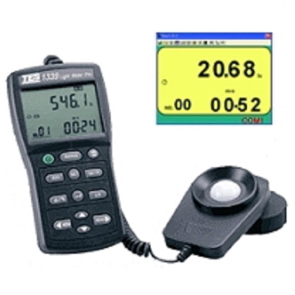 TES泰仕TES-1339R 專業級照度計 (RS-232) 《可接電腦》