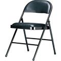 【NICK】皮革坐墊橋牌折疊椅