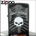 【ZIPPO】美系~哈雷~Harley-Davidson-骷髏圖案設計打火機