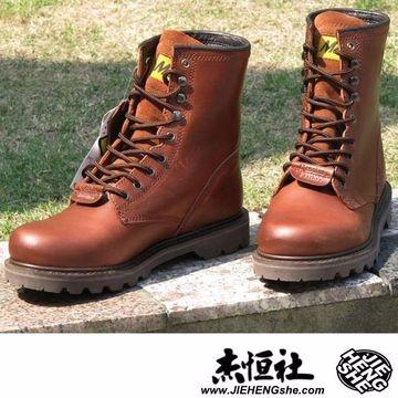 款708紅棕光專櫃正品戶外鞋工作鞋大頭鞋情侶鞋牛皮靴工裝靴機車靴野戰靴MACK馬克