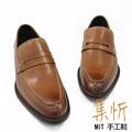 極致渲染【集忻t.star‧MIT台灣手工鞋】極品牛皮 經典款 樂福鞋 『棕色』TF-6027