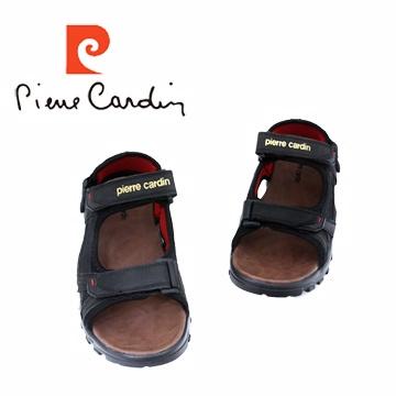 熱夏必備【皮爾卡登‧Pierre Cardin】經典造型 輕量氣墊運動涼鞋『黑』PAL5199