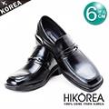HIKOREA『韓國進口隱形增高鞋』776011-黑-沉穩優質都市款隱形增高6cm【預購】