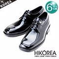 HIKOREA『韓國進口隱形增高鞋』776017-黑-時尚迷人上班款隱形增高6cm【預購】