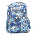 ☆美國 Ju-Ju-Be 媽媽包 ☆BeRightBack後背包-Sapphire Lace 湛藍寶石-最聰明的媽咪包