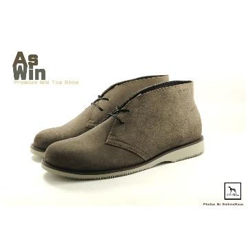 【Dogyball】AsWin鞋款 真皮短靴 大地色