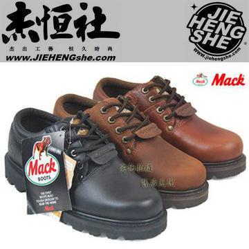 款014G光黑 光紅棕 磨砂棕專櫃正品戶外鞋工作鞋大頭鞋情侶鞋 MACK馬克
