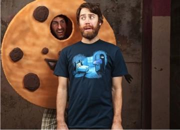 Monster in the closet 誰偷了我的餅乾/Sesame Street Cookie Monster From 美國設計品牌Threadless
