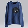 【摩達客】韓國進口設計品牌DBSW漂浮外太空圓領長袖T恤