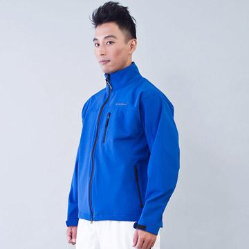 TECL-WOOD《96615》防風防水透氣保暖Soft Shell(軟殼)外套(寶藍色)(男)
