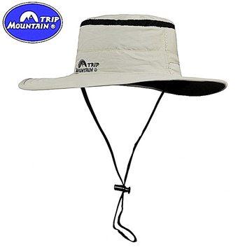 Mountain大圓邊帽360度防曬遮陽帽透氣網帽攝影帽戶外帽漁夫帽釣魚帽適野外登山露營郊遊踏青釣魚打鳥