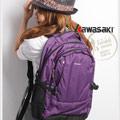 【KAWASAKI】14吋透氣輕量電腦包(大)紫色