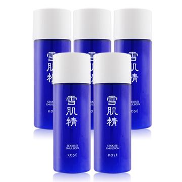 《KOSE 高絲》雪肌精乳液超越正貨容量組(33ML)X5入