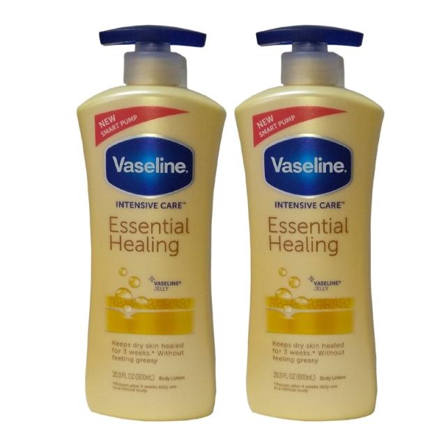 (超值二入) 進口Vaseline凡士林 全效滋養潤膚乳液-600ml