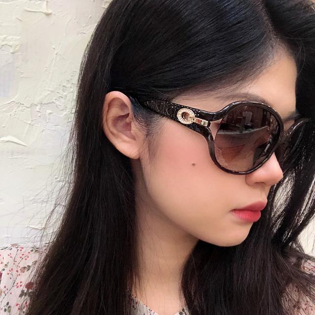 Christian Dior 時尚太陽眼鏡 咖啡框漸層茶鏡片