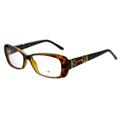 GUCCI-時尚光學眼鏡 (琥珀/黑色)