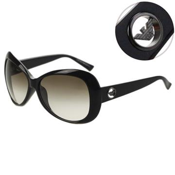 EMPORIO ARMANI-時尚太陽眼鏡(黑色)