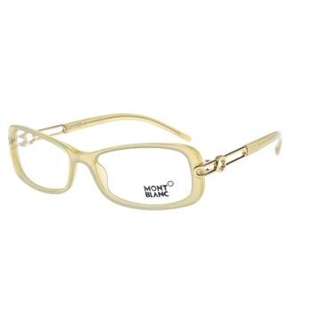 萬寶龍 MONTBLANC-時尚光學眼鏡(珍珠米色)MB204