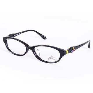 Vivienne Westwood 英國Anglomania英倫龐克土星環光學眼鏡(黑)AN24801