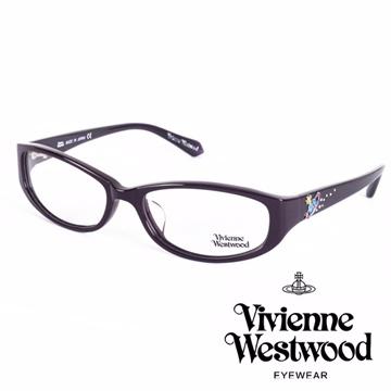Vivienne Westwood 英國薇薇安魏斯伍德土星環施華洛世奇鑽點綴款(深咖啡)VW26004