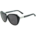 SWAROVSKI-時尚太陽眼鏡(黑色)SW29