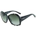 SWAROVSKI-時尚太陽眼鏡(黑色)SW9040