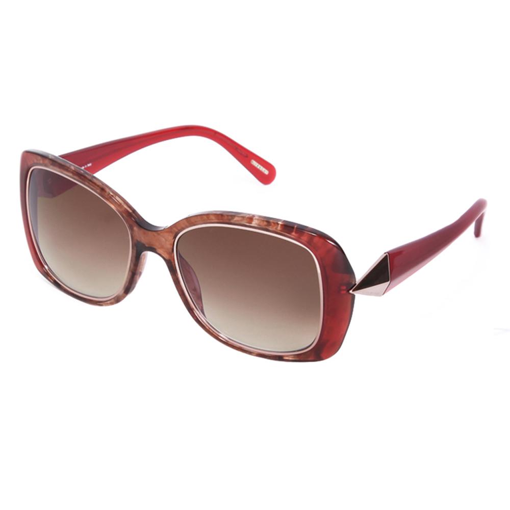 限時下殺▼原價$13600 GIVENCHY 法國魅力紀梵希時尚幾何美學風格太陽眼鏡(紅) GISGV8290AH7
